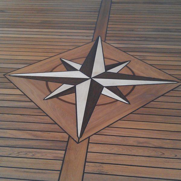 Teak deck in my house
