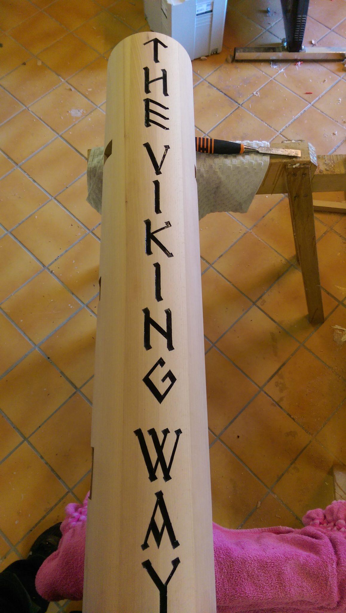 Custom made wooden dummy or mook yan jong - WoodenDummy